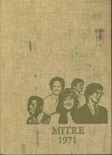 1971 Bishop Dunne High School Yearbook Cover