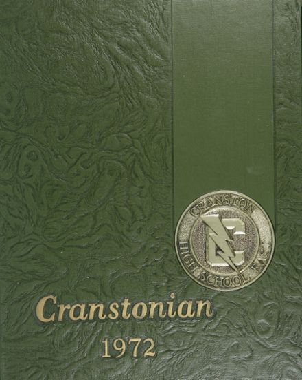 1972 Cranston High School East Yearbook Cover