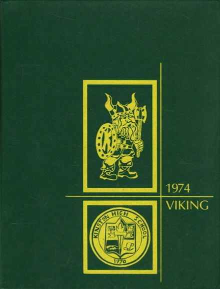 1974 Kinston High School Yearbook Cover