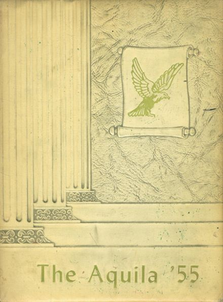 1955 Luling High School Yearbook Cover