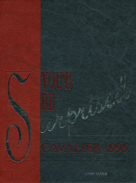 1995 Cookeville High School Yearbook Cover