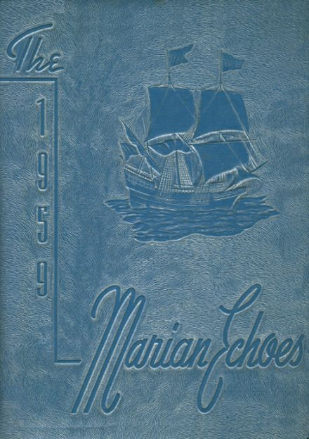1959 St. Mary's High School Yearbook Cover