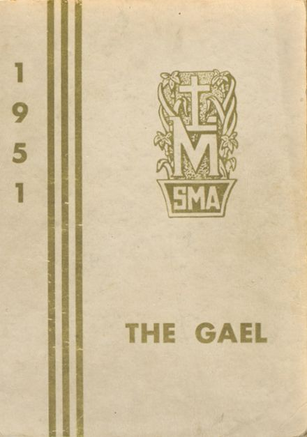 1951 St. Mary's Academy Yearbook Cover