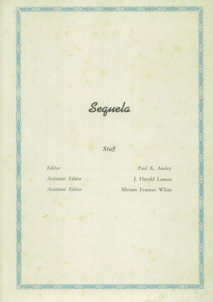 1940 People's Bible School Yearbook Page 3