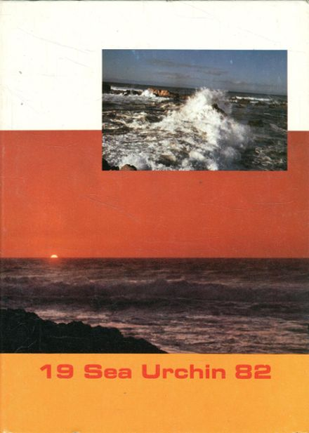 1982 Pacific Grove High School Yearbook Cover