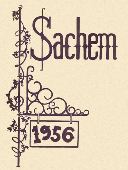 1956 Agawam High School Yearbook Cover