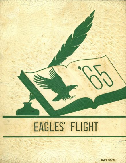 1965 St. John's Catholic High School Yearbook Cover