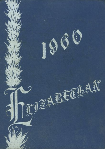 1960 Elizabethtown Area High School Yearbook Cover