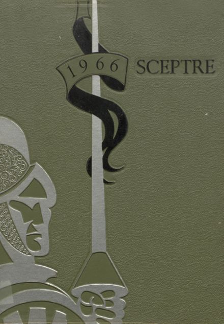 1966 King's High School Yearbook Cover
