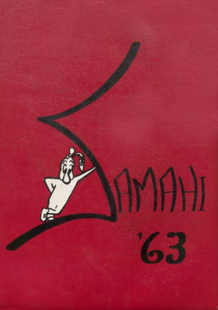 1963 St. Martin's High School Yearbook Cover