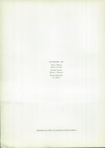 1937 Macomber Vocational High School Yearbook Page 8