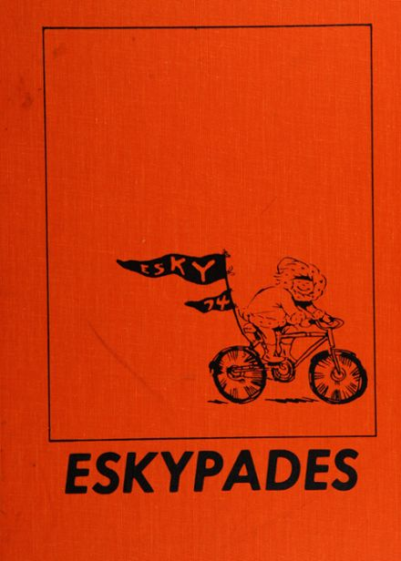 1974 Escanaba Area High School Yearbook Cover