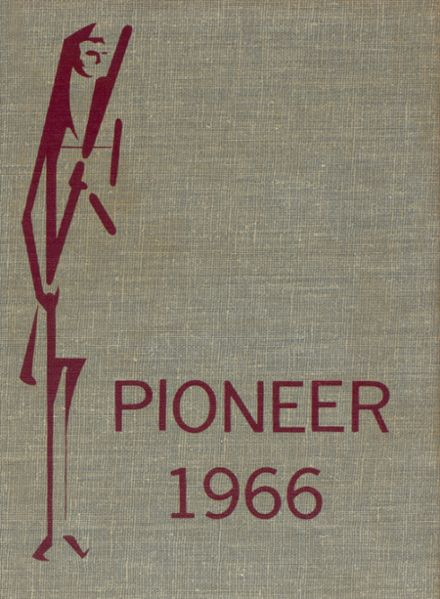1966 Conestoga High School Yearbook Cover