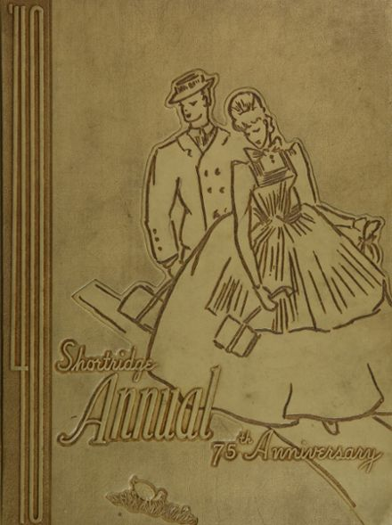 1940 Shortridge High School Yearbook Cover