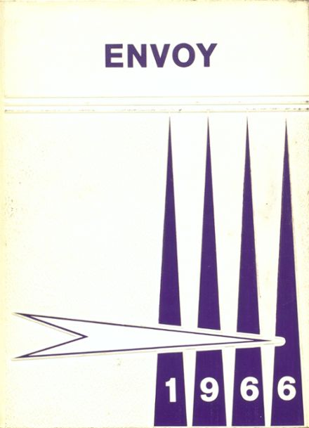 1966 L'Anse High School Yearbook Cover