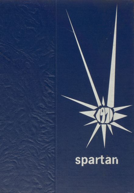 1971 St. Mary's Hall / Doane Academy Yearbook Cover