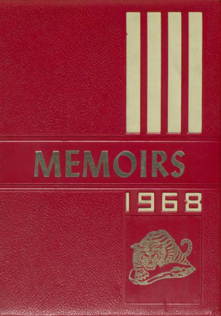 1968 Nettleton High School Yearbook Cover