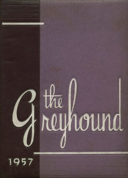 1957 Monessen High School Yearbook Cover