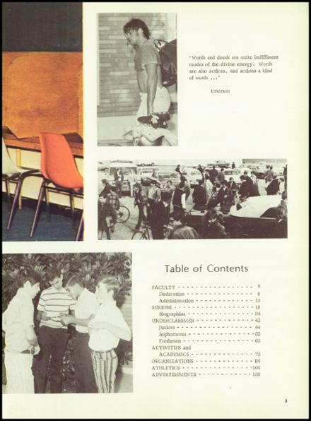 1972 Crespi Carmelite High School Yearbook Page 7