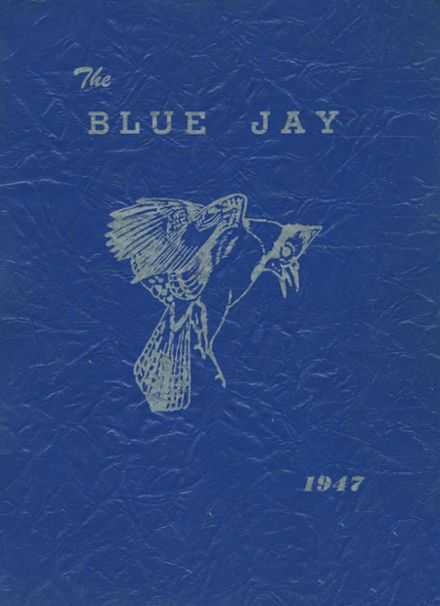 1947 Marshfield High School Yearbook Cover