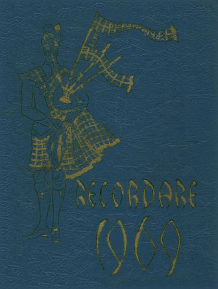 1969 St. Mary's High School Yearbook Cover