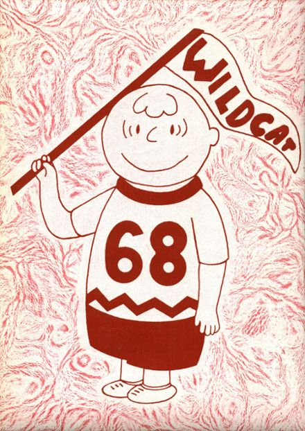 1968 Filer High School Yearbook Cover