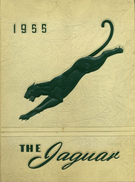 1955 Falls Church High School Yearbook Cover