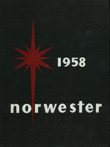 1958 Upper Arlington High School Yearbook Cover