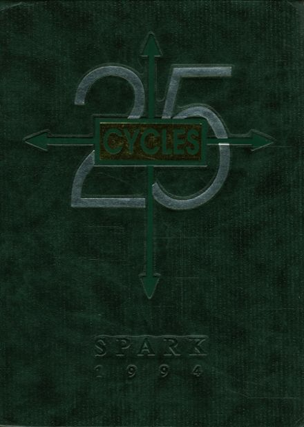 1994 St. Mark's High School Yearbook Cover