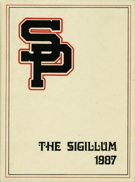 1987 St. Paul's High School Yearbook Cover