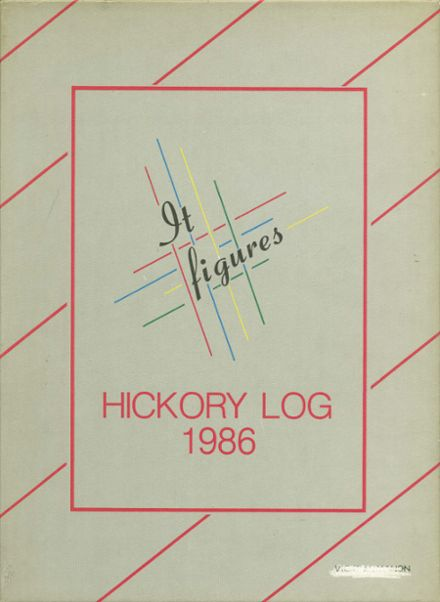 1986 Hickory High School Yearbook Cover