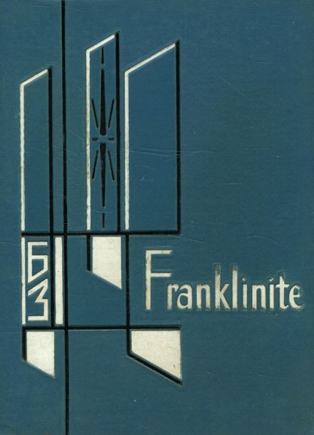 1963 Franklin High School Yearbook Cover