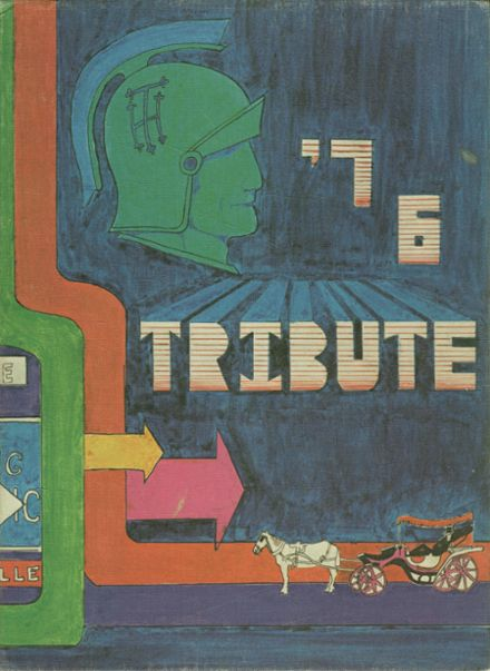 1976 Holy Trinity High School Yearbook Cover