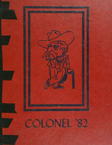 1982 Christian County High School Yearbook Cover
