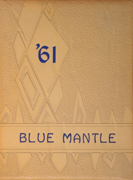 1961 St. Mary's High School Yearbook Cover