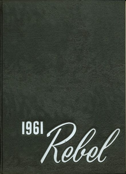 1961 Robert E. Lee Institute Yearbook Cover