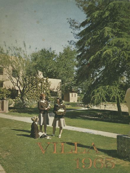 1965 St. Joseph's School Yearbook Cover