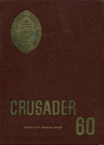 1960 St. Paul's High School Yearbook Cover