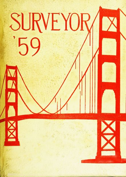 1959 George Washington High School Yearbook Cover