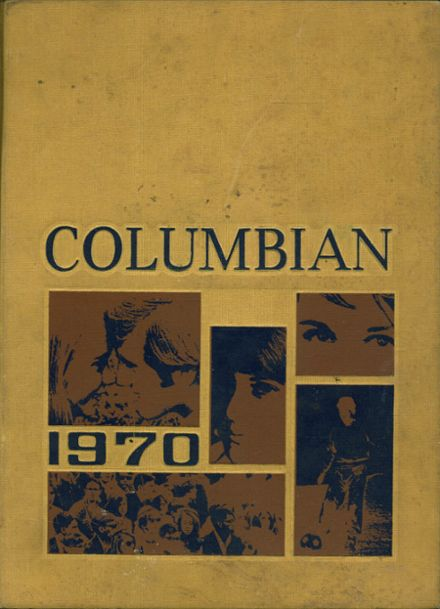 1970 Columbia High School Yearbook Cover