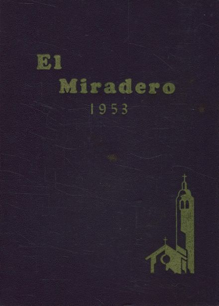 1953 Bishop's School Yearbook Cover