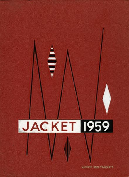 1959 Galena Park High School Yearbook Cover