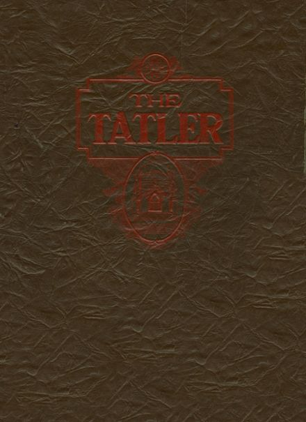 1938 Alton High School Yearbook Cover