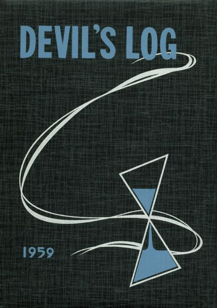 1959 Sharpsville High School Yearbook Cover