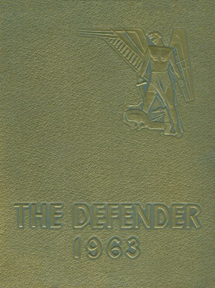 1963 St. Michael's High School Yearbook Cover