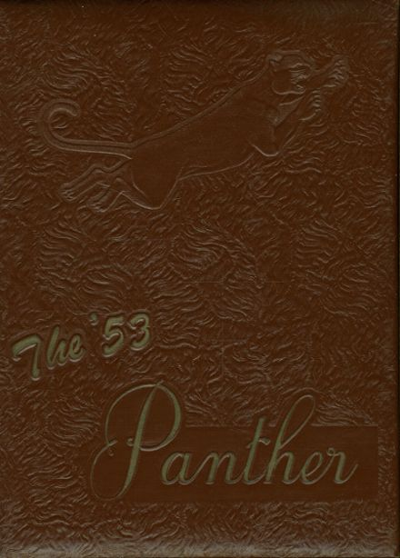 1953 Powell High School Yearbook Cover