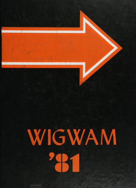 1981 Globe High School Yearbook Cover