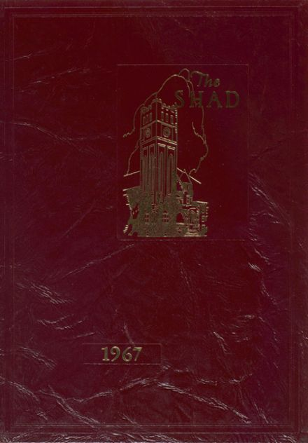 1967 Shattuck - St. Mary's School Yearbook Cover