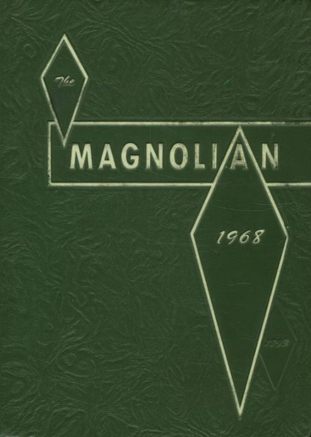 1968 Magnolia High School Yearbook Cover