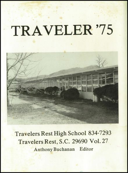 Image of: Travelers Statues Explore 1975 Travelers Rest High School Yearbook Travelers Rest Sc Classmates Classmatescom Explore 1975 Travelers Rest High School Yearbook Travelers Rest Sc